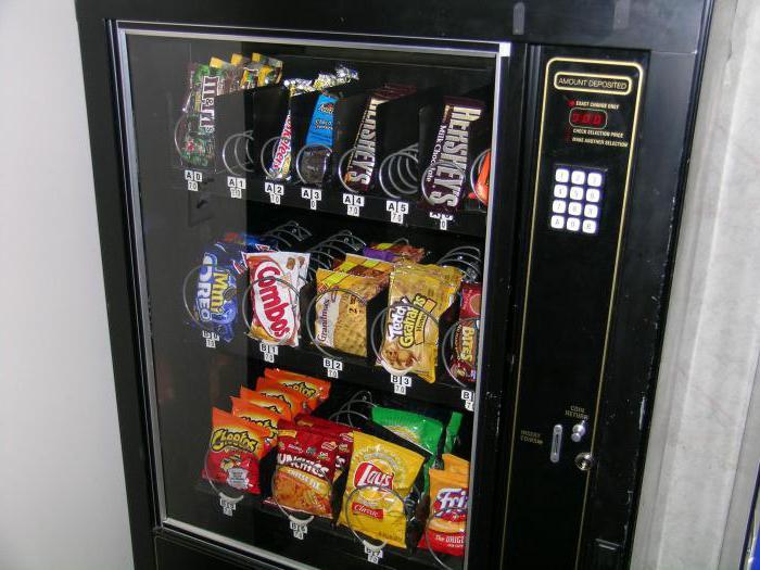 Автоматы по продаже - что это? Когда продажей занимается не человек