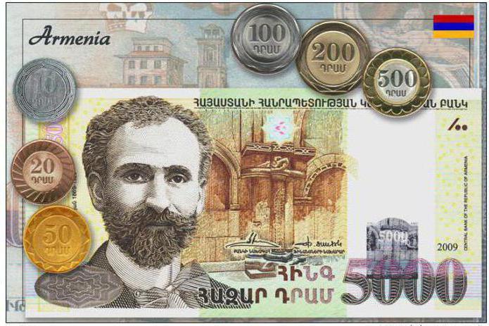 Армянские деньги: описание, история и фото