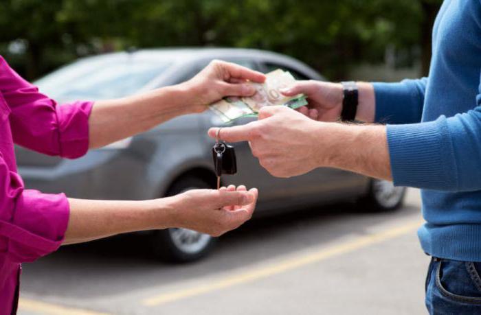 Акт передачи-приема автомобиля при купле продаже
