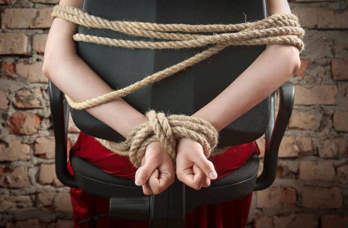 Похищение человека и незаконное лишение свободы