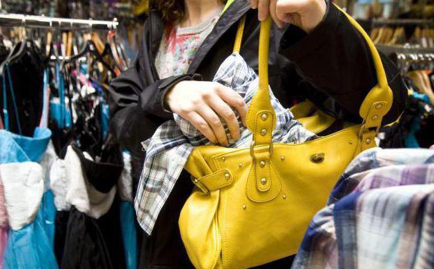 Ответственность за воровство в магазинах. Кража в магазине