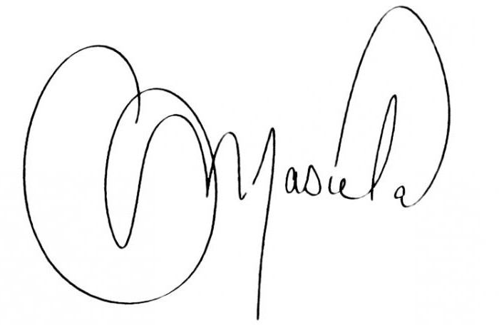 Оригинальная подпись: примеры