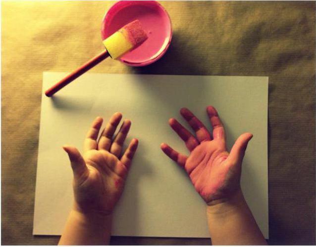 слепки детских ручек и ножек своими руками