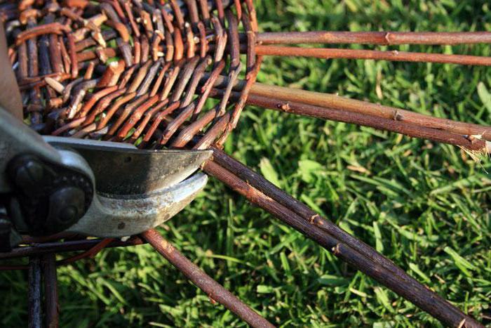 технология плетения корзин из ивы
