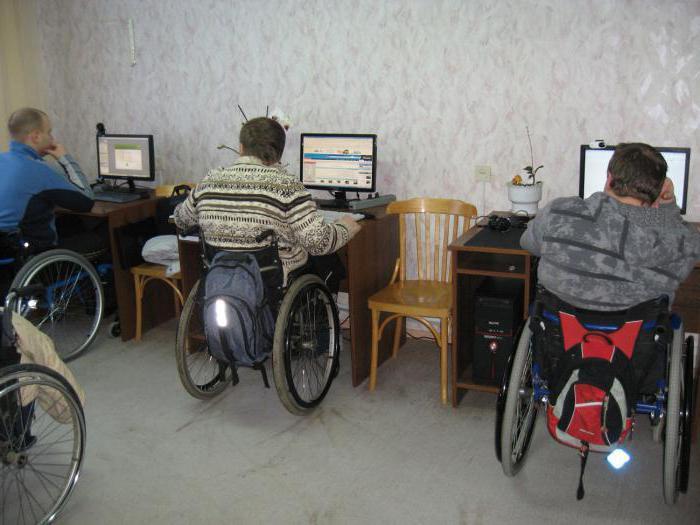 категории работающих инвалидов