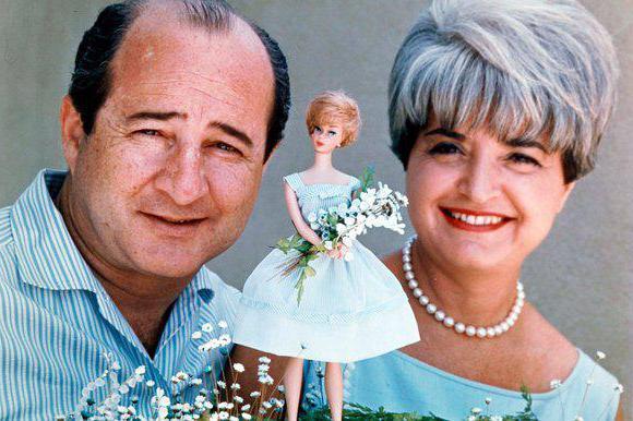 Хэндлер Рут, создательница куклы Барби: биография, семья