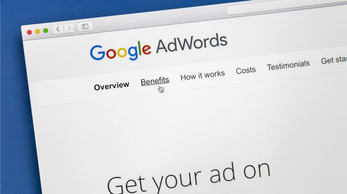 рекламная кампания google adwords