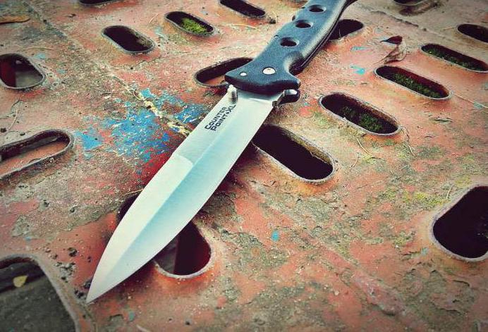 Какой нож считается холодным оружием? Классификация