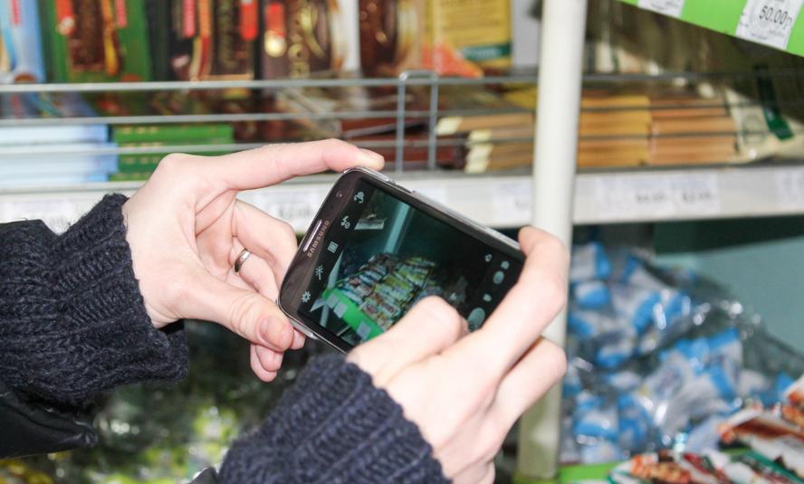 разрешено ли фотографировать товар в магазине пятном