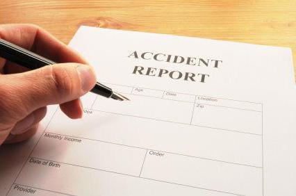 Классификация несчастных случаев. Причины и значение