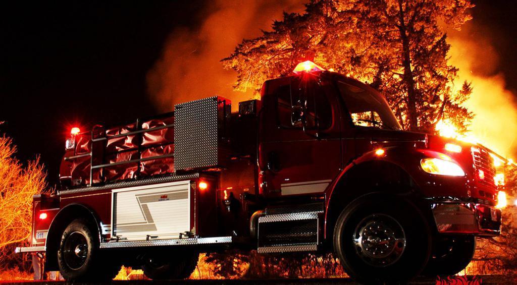 Виды ТО для пожарных автомобилей