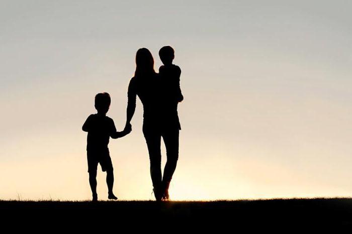 как оформить документы на мать одиночку