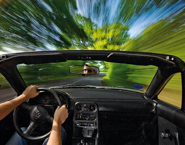 ПДД: скорость движения