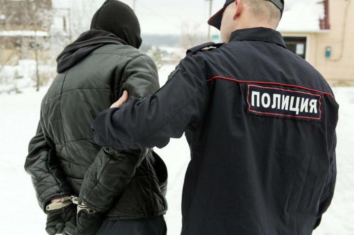действия при задержании полицией