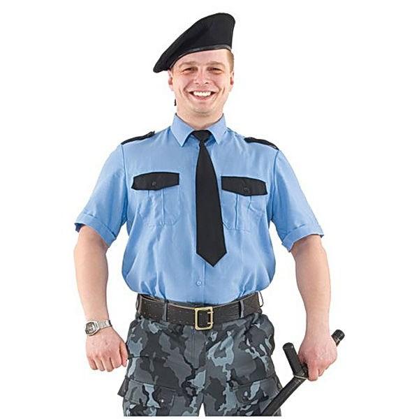 Резюме охранника: образец