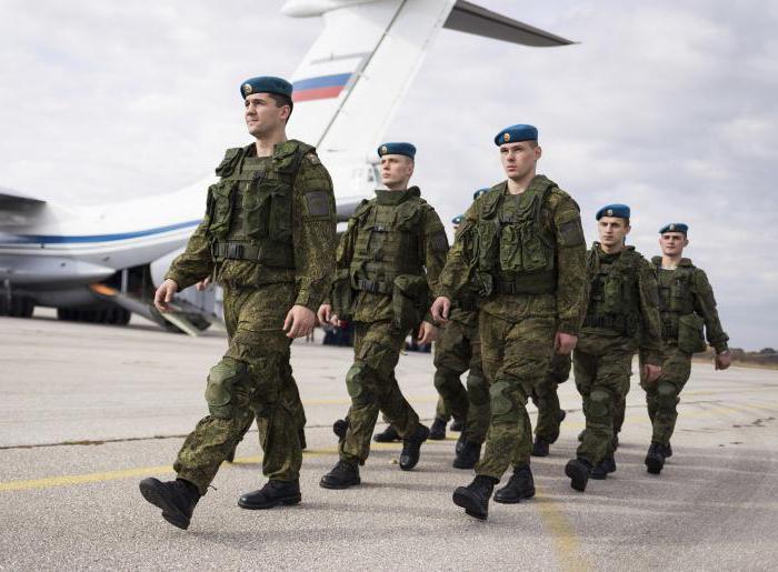 Тарифные разряды военнослужащих