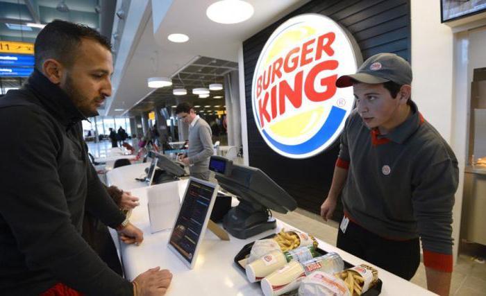 """Работа в """"Бургер Кинг"""": отзывы. Burger King: адреса, меню, доставка"""