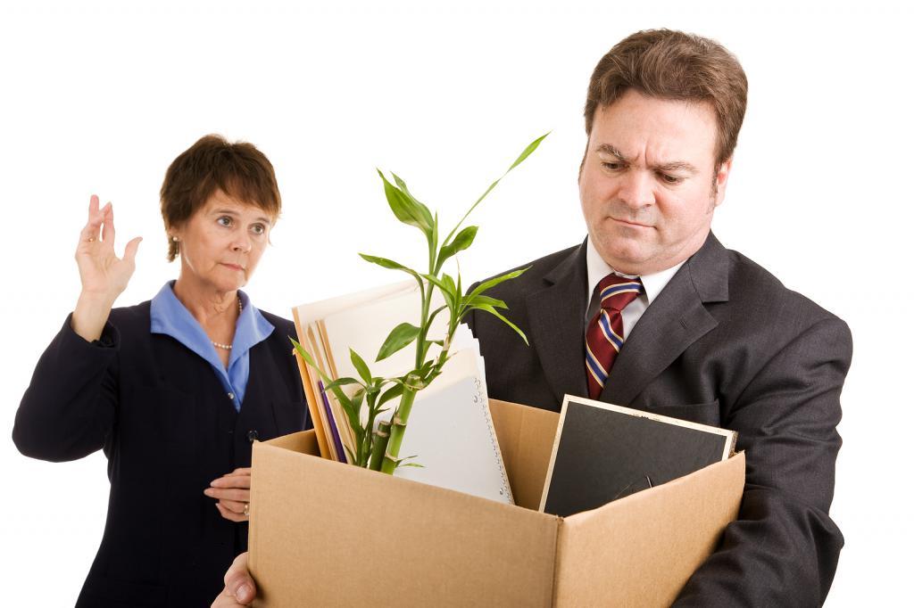 Незаконное увольнение работника с работы