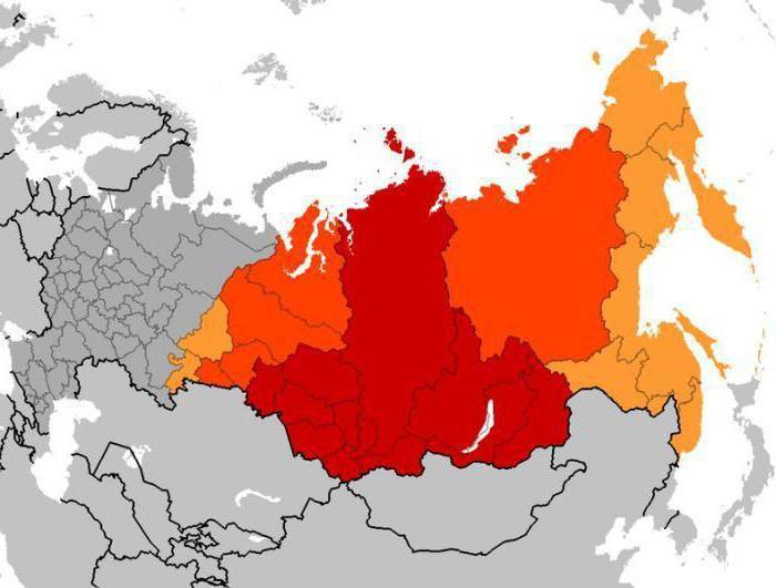 Регионы Сибири и их особенности