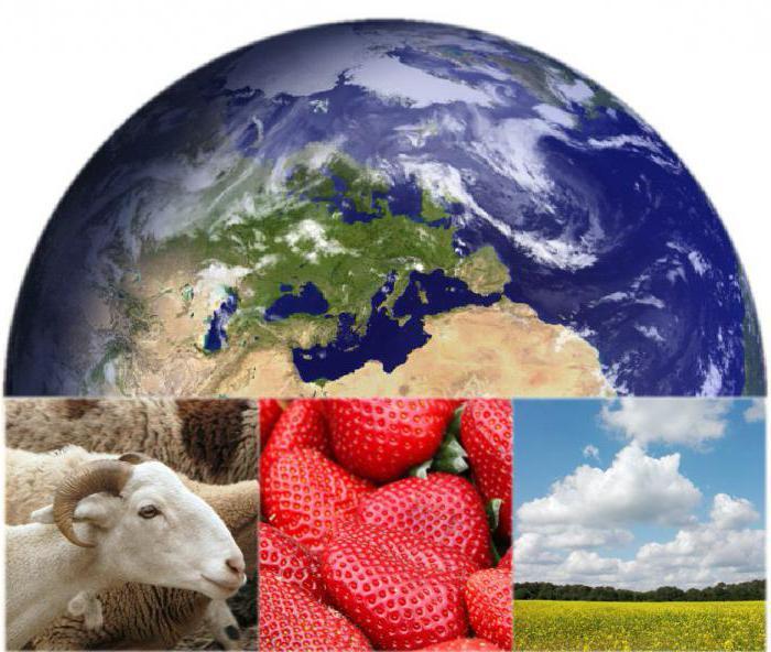 Субъекты и объекты природопользования