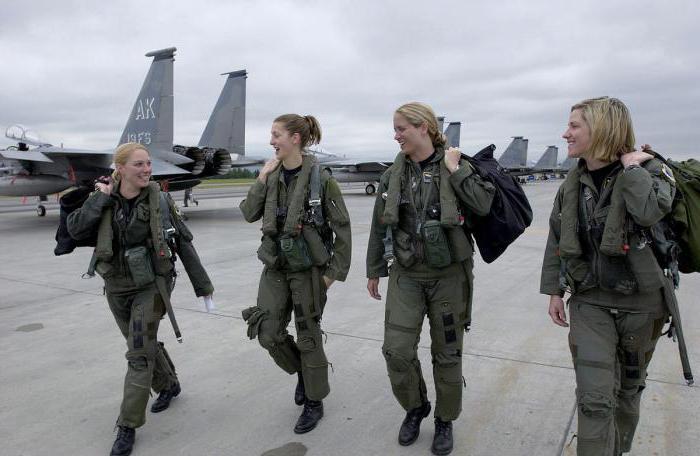 Военная служба по контракту для женщин