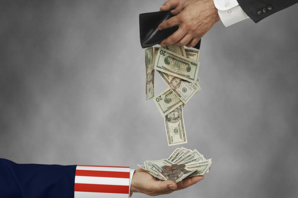 какие налоги платят в сша физические лица