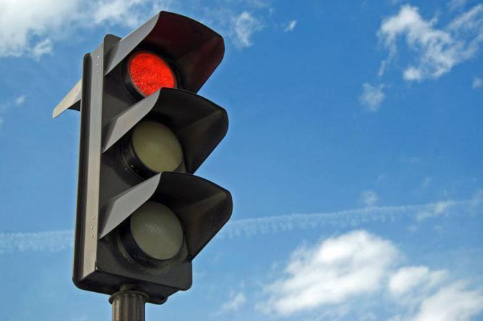 Проезд на красный: штрафы и их размеры