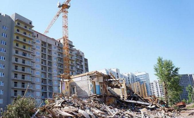 Снос ветхого жилья: особенности, программа и законопроект