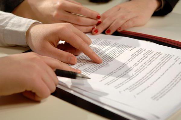 Составление договора с адвокатом: особенности