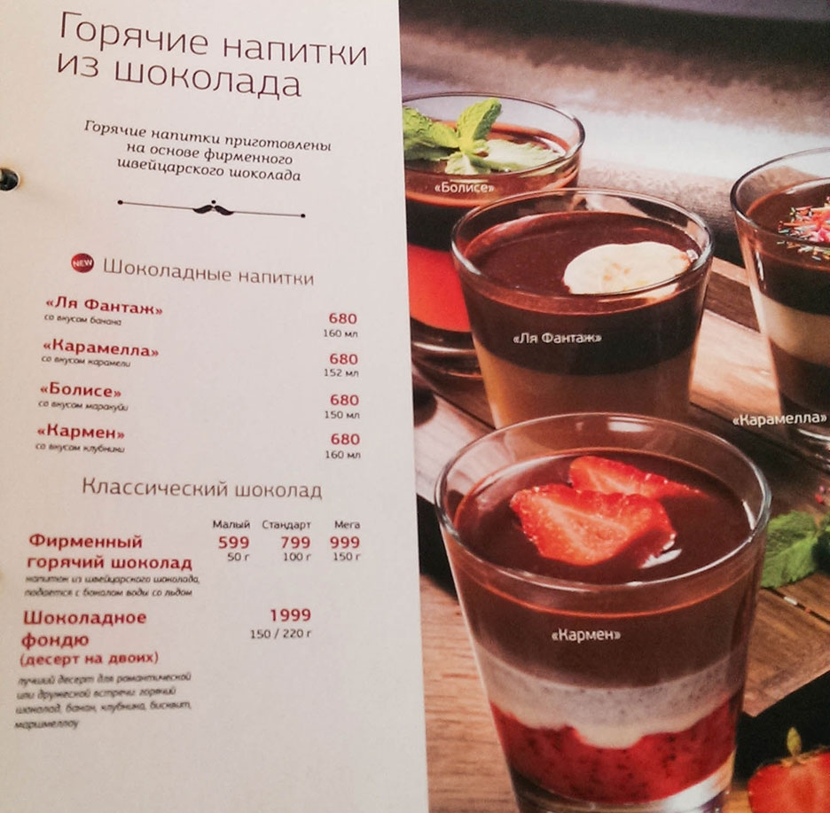 Франшиза Шоколадницы: условия, отзывы