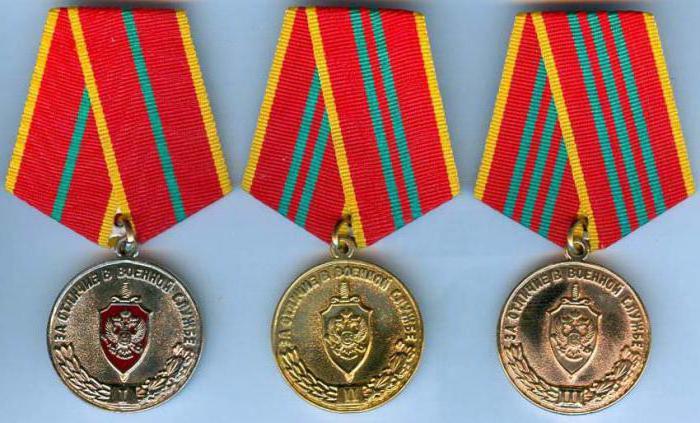Медали МВД России: список