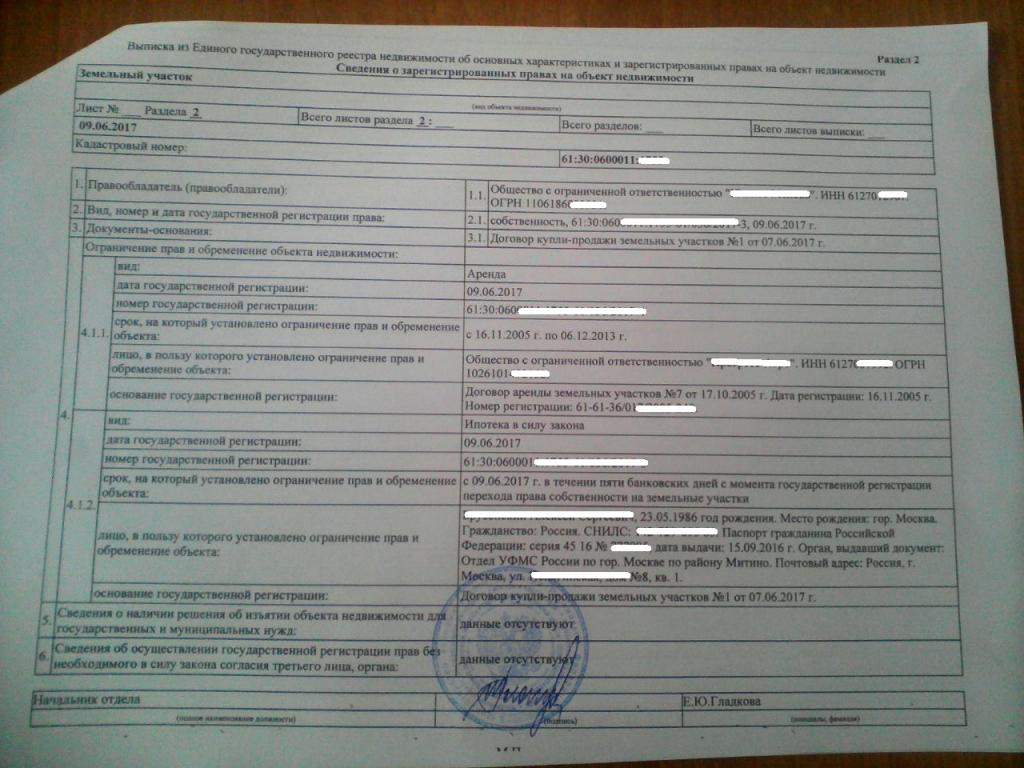 Где и как получить выписку из ЕГРП онлайн официально из.