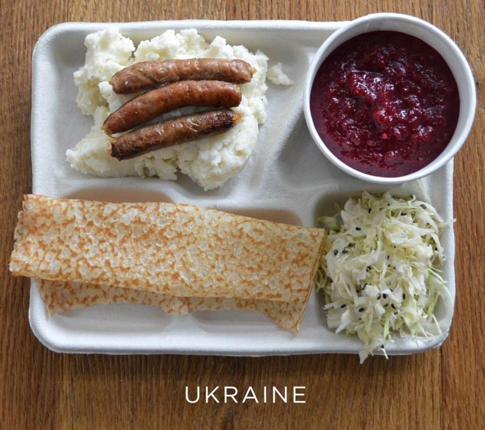 Завтрак в Украинской школе