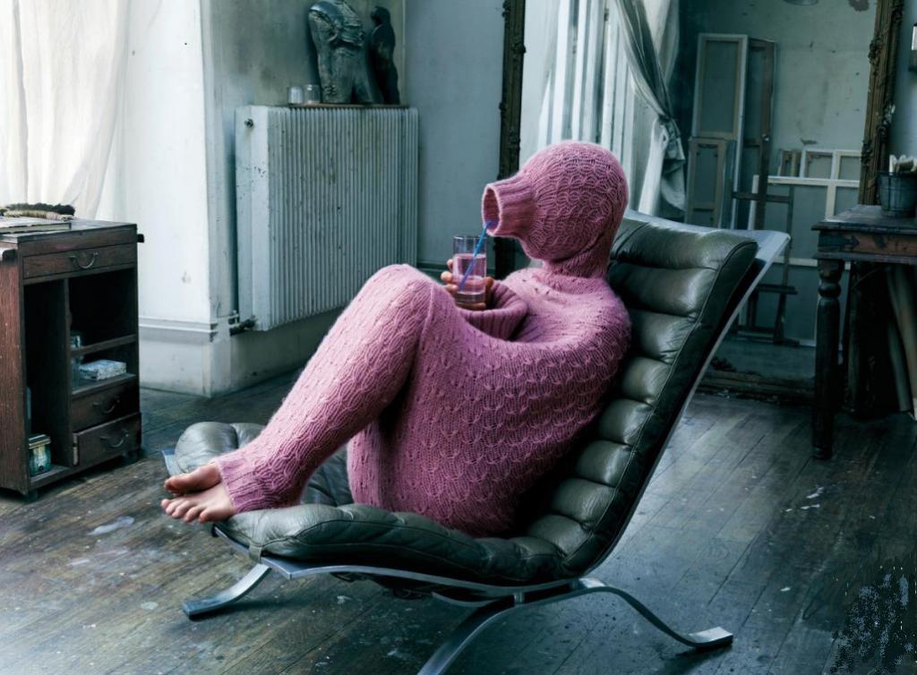 Самый длинный свитер