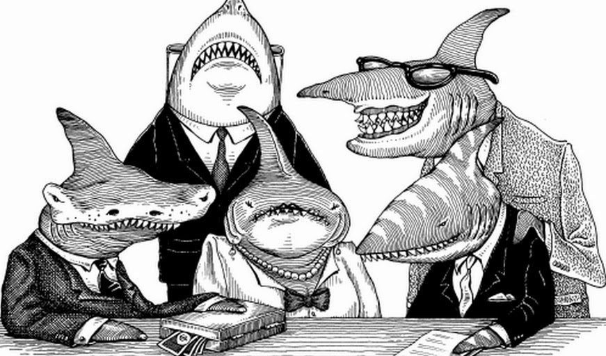 картинки акул бизнеса и власти уже курсе