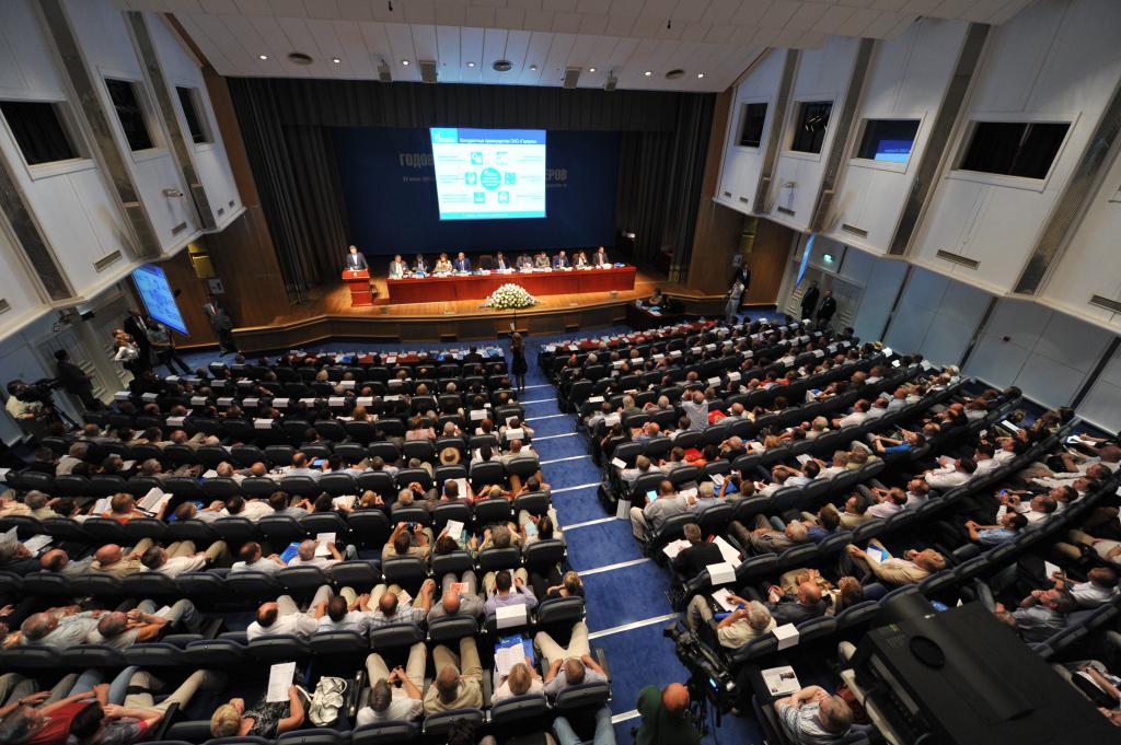 Проведение презентации для акционеров