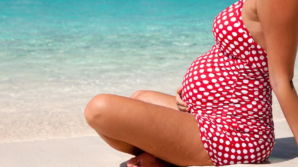 беременность в летний отпуск