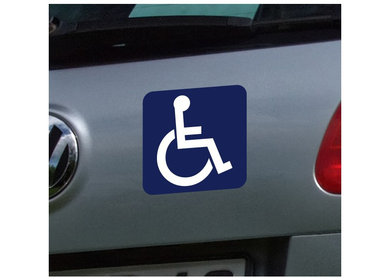 Место для инвалидов на парковке знак размеры штраф за парковку