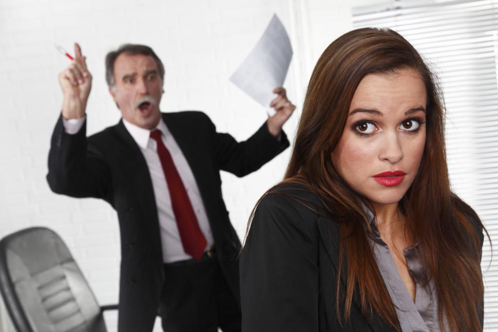 Девушка и начальник