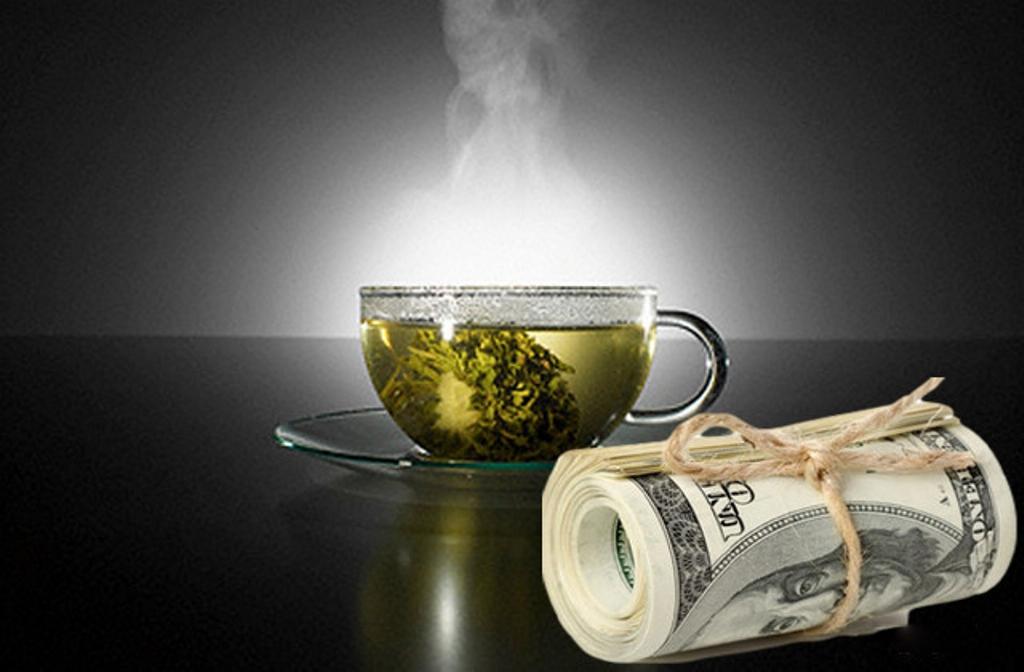 картинка чай с лимоном денег фоне прогулочные