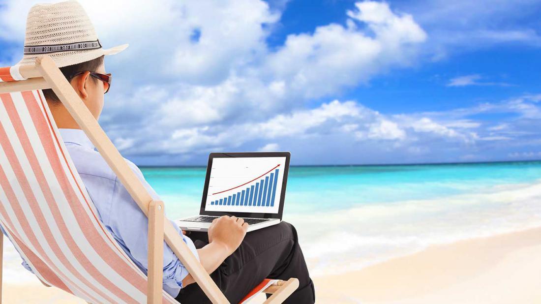 Как работать во время отпуска, не испытывая стресс?