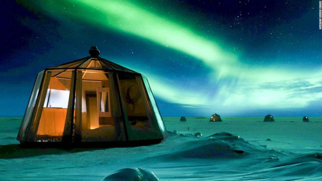 они картинки северного полюса с домами этом зачастую