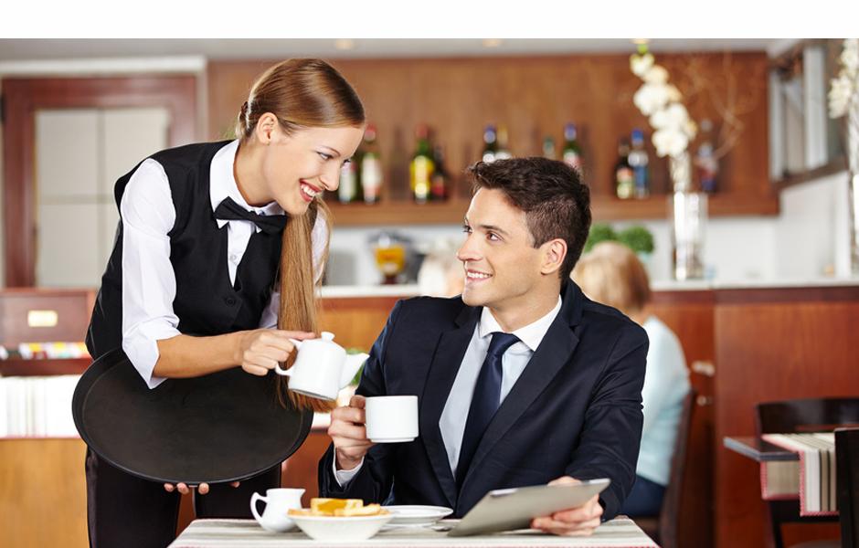 имел картинка официант с чаем нее фантастический вкус