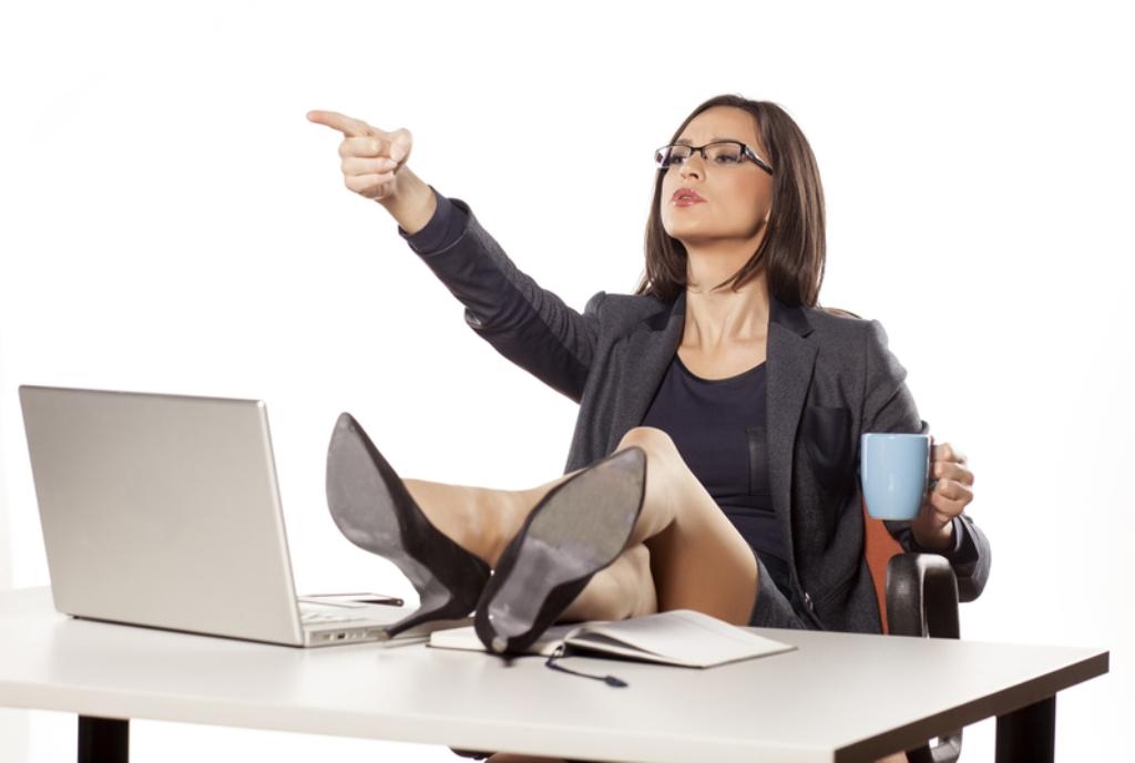 Нарисованные картинки, картинки про босса женщину